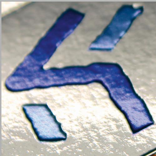 UV-Druck mit Reliefprägung