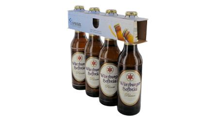 4er Träger für Flaschen